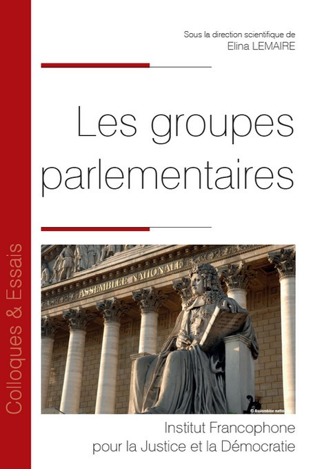 les groupes parlementaires 9782370322296